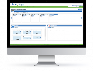 Dental laboratory invoicing software